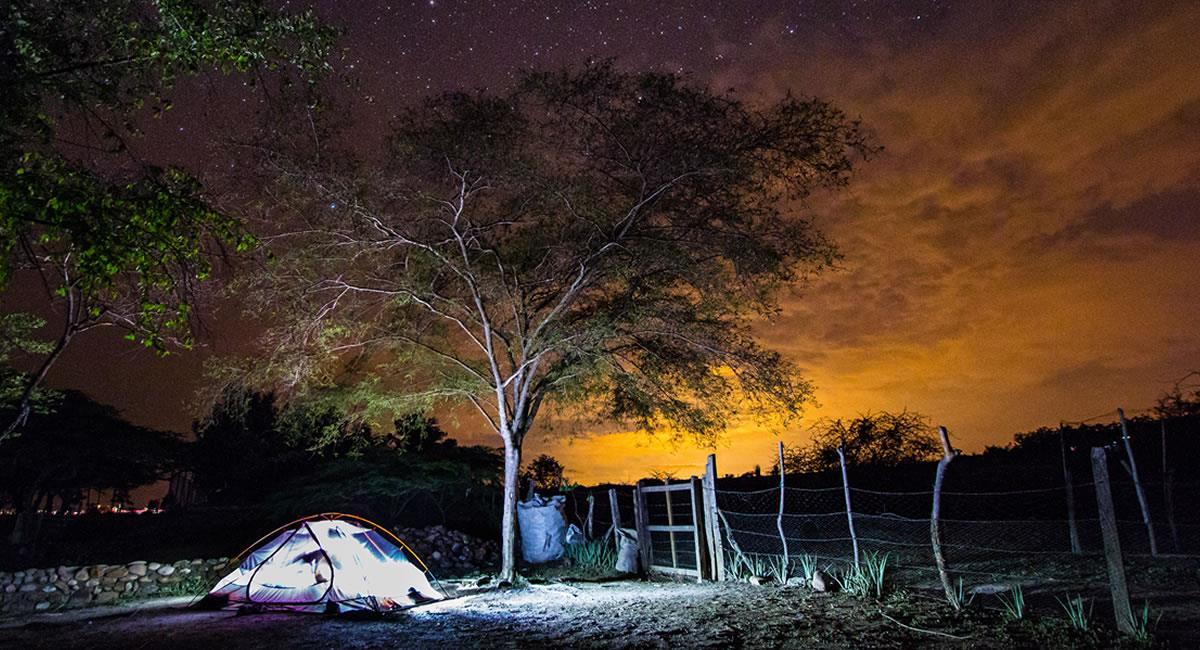 El Desierto del Tatacoa es una bóveda extraordinaria directa al cielo estrellado. Foto: Shutterstock