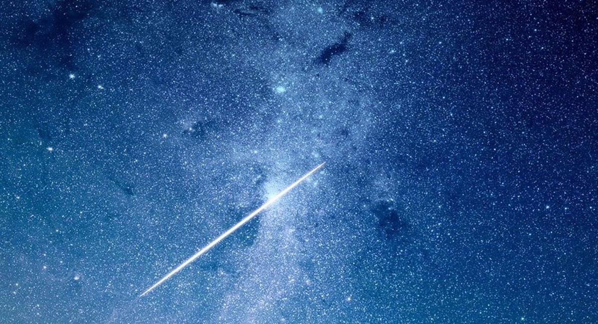 Las Dracónidas provienen del cometa 21/P Giacobini-Zinner, visto por primer vez en 1.900. Foto: Pixabay