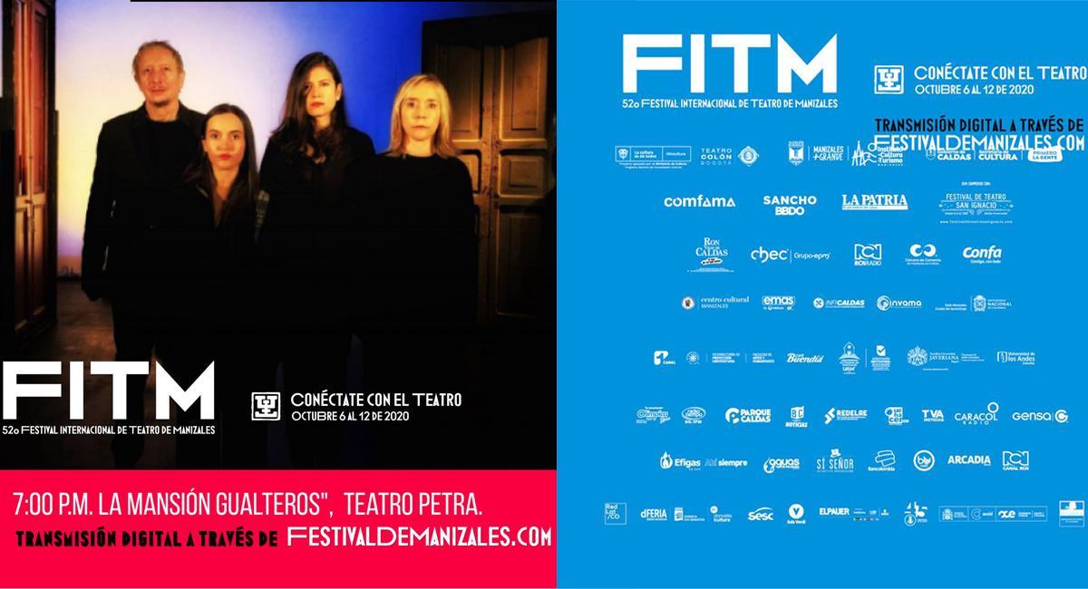 Festival Internacional de Teatro de Manizales llega de forma virtual