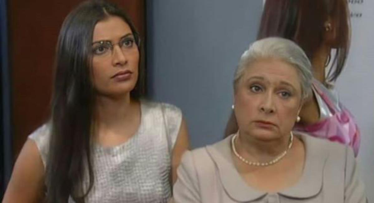 La actriz no quiso ser una carga para sus familiares. Foto: Youtube Canal RCN.