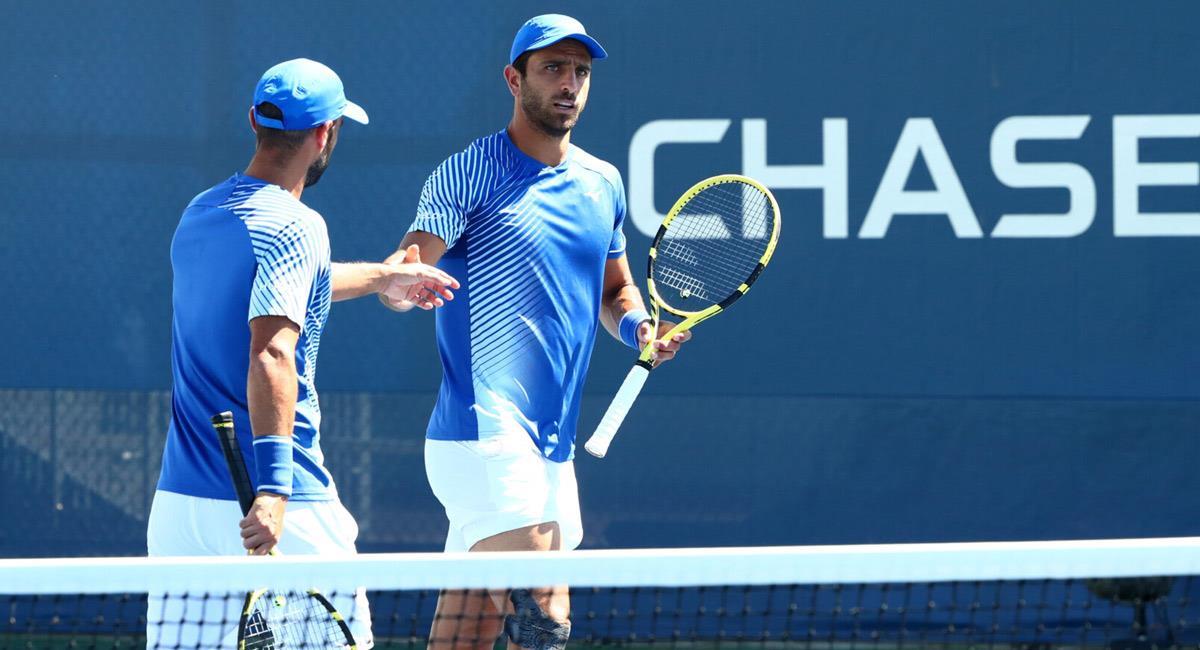 Cabal y Farah no pudieron llegar a la final de Roland Garros. Foto: Prensa US Open 2020 / USTA