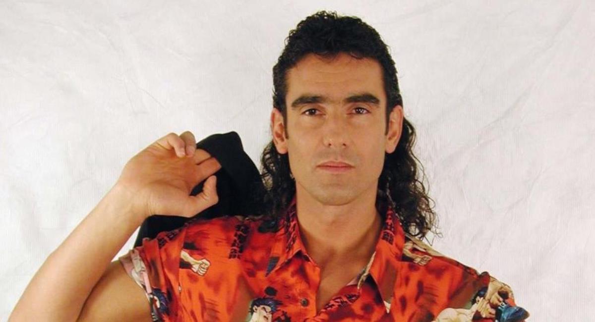 El actor se despidió de Colombia después de 'Pedro, el escamoso'. Foto: Twitter @entornoint.