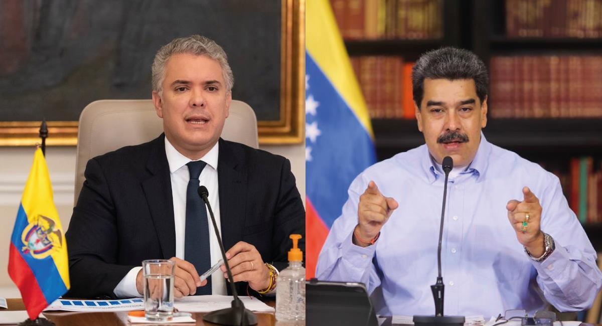 Los mandatarios han sostenido una fuerte enemistad. Foto: Twitter @infopresidencia / NicolasMaduro