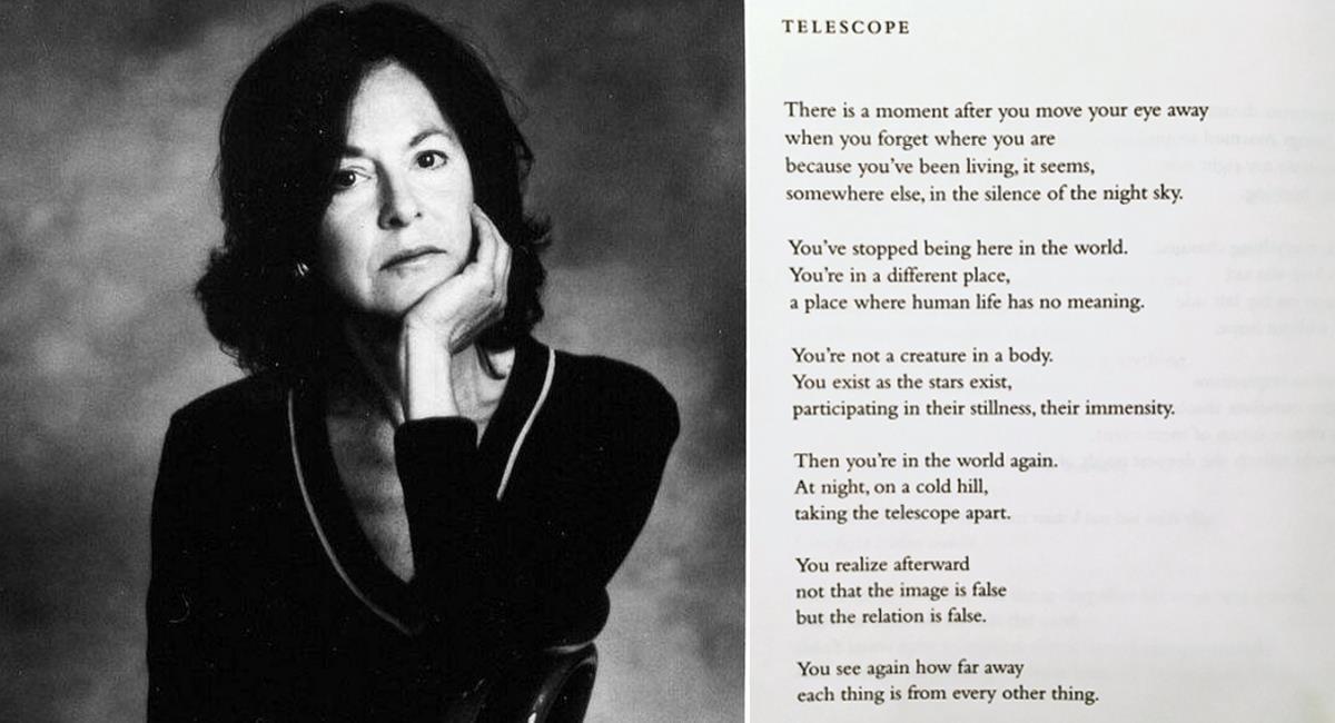 Lousie Glück es una profesora de literatura de la Universidad de Yale con gran reconocimiento en la poesía contemporánea. Foto: Facebook English Department- Fort Hays State University