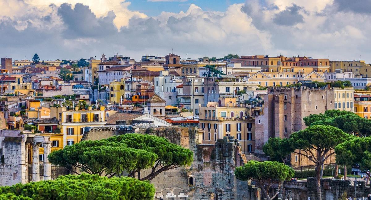 Roma, está entre uno de los destinos favoritos para conocer de los 'viajeros'. Foto: Pixabay