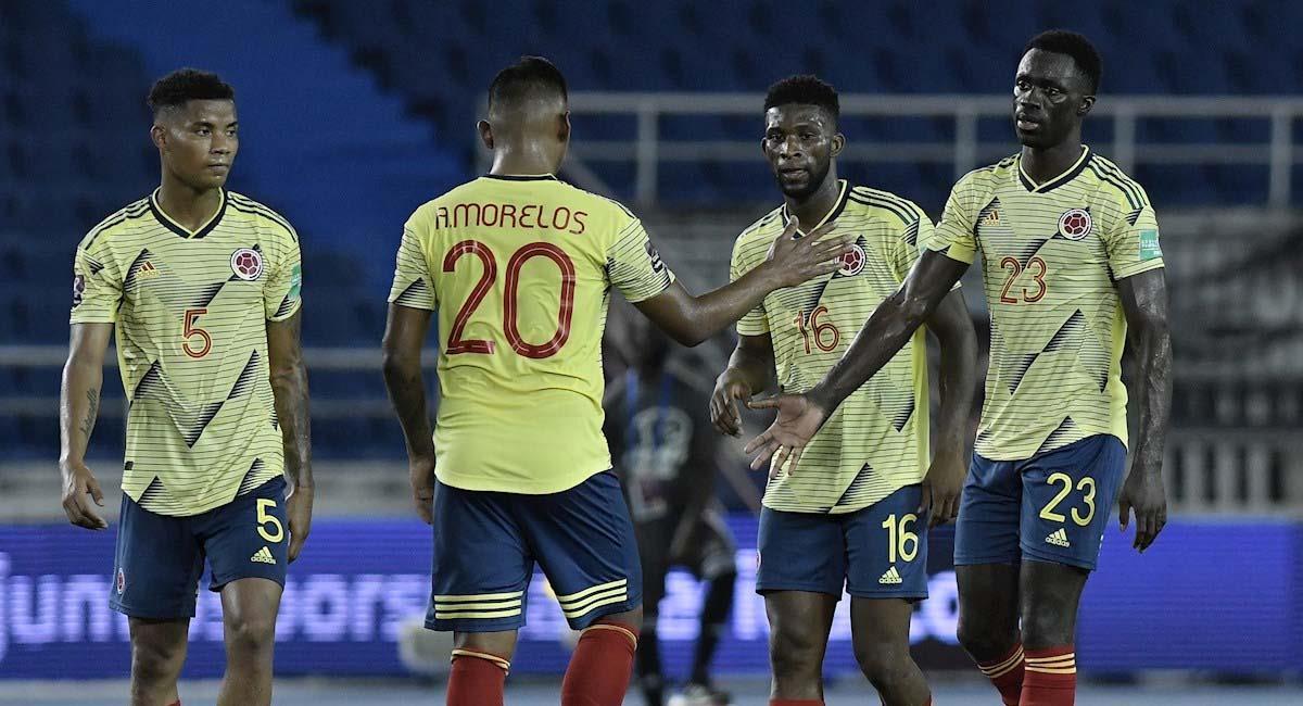 Colombia consiguió sus primeros tres puntos ante Venezuela. Foto: EFE