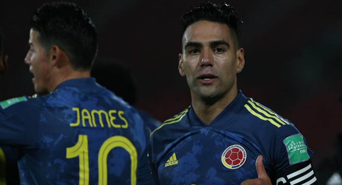 Emotivo mensaje de James a Falcao. Foto: EFE