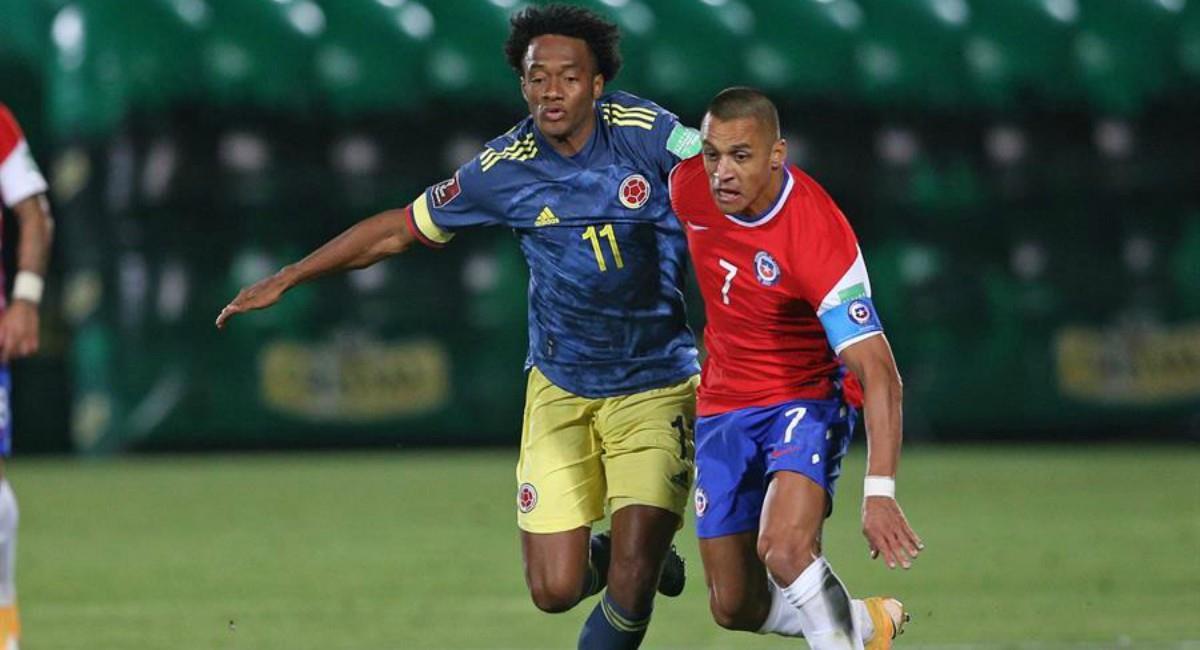 Así reaccionó la prensa colombiana tras el partido Chile vs. Colombia. Foto: EFE
