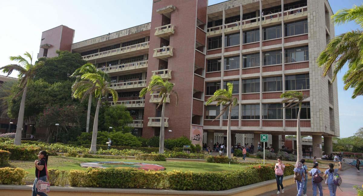 Edificio de la Universidad del Atlántico. Foto: Universidad del Atlántico