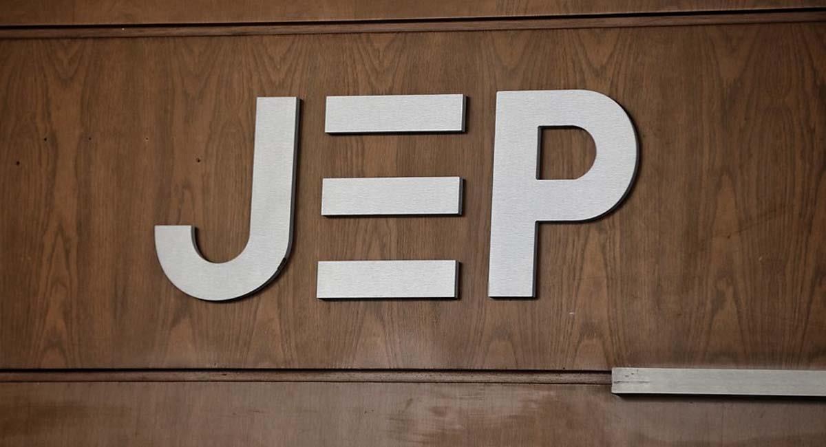 Logo de la Jurisdicción Especial para la Paz. Foto: Twitter