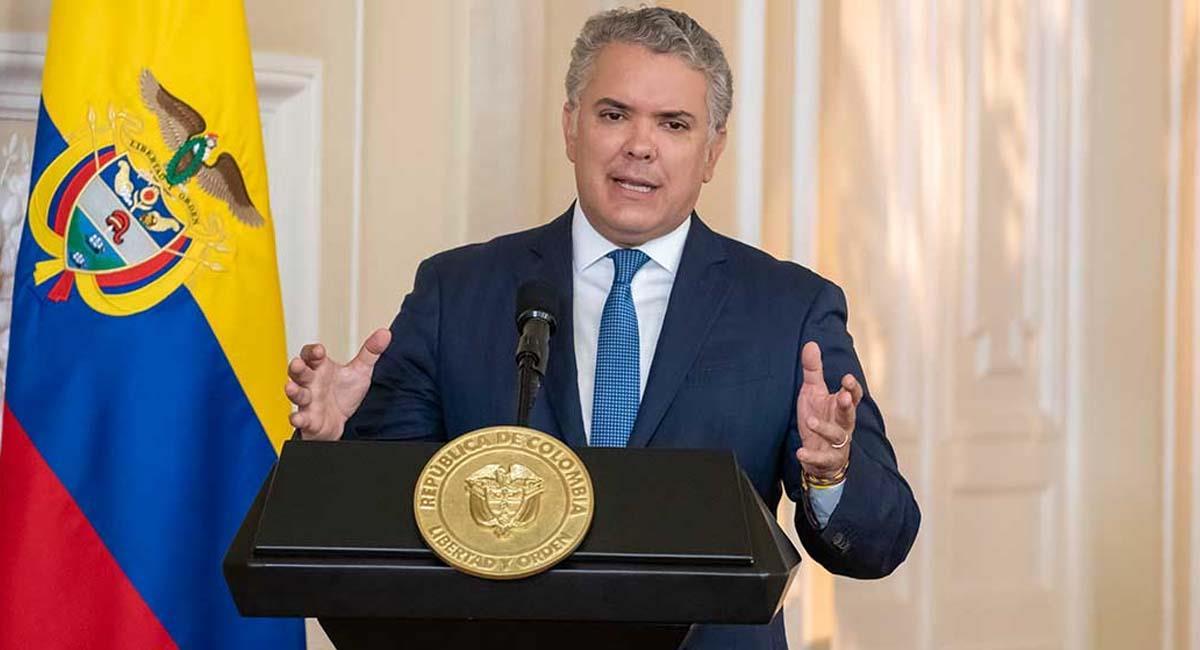 Iván Duque, actual primer mandatario de Colombia. Foto: Presidencia Colombia