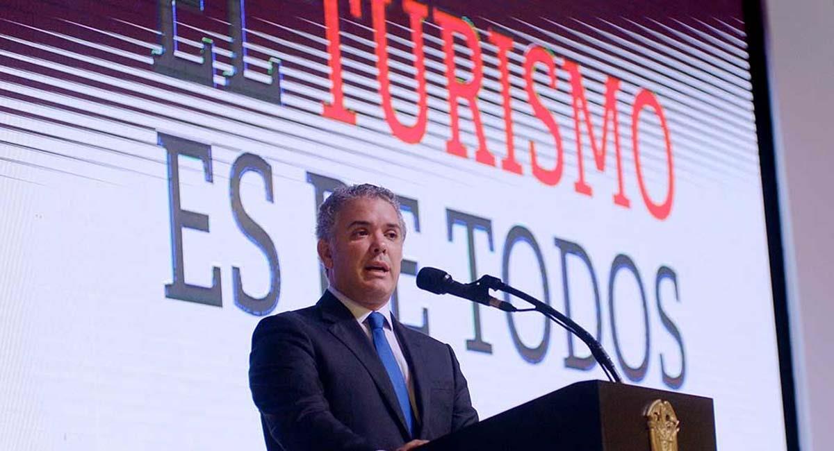 Iván Duque lleva dos años en la Presidencia de Colombia. Foto: Presidencia Colombia