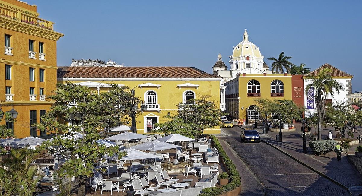 Cartagena de Indias, símbolo del turismo colombiano que vuelve a recibir turistas para reactivar el sector golpeado por la pandemia. Foto: Pixabay