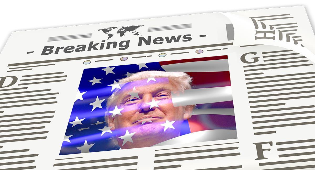 Donald Trump ha generado amores pero también muchos odios y The New York Times no ha mostrado ser propiamente uno de sus seguidores. Foto: Pixabay