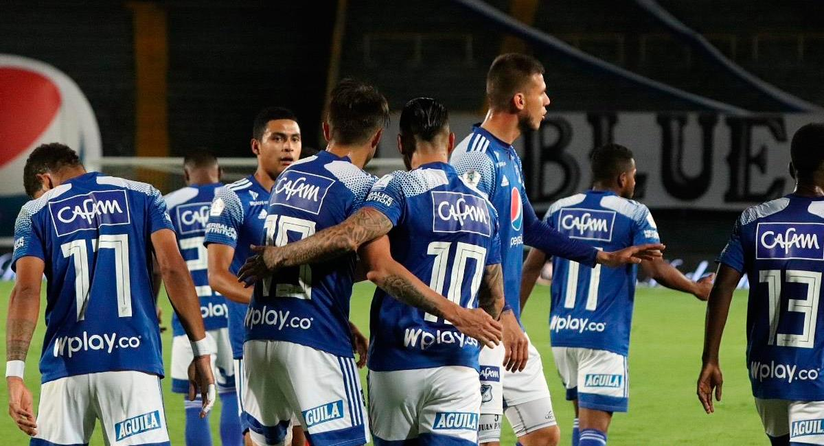 Millonarios logró derrotar a Patriotas en El Campín. Foto: Twitter @MillosFCoficial