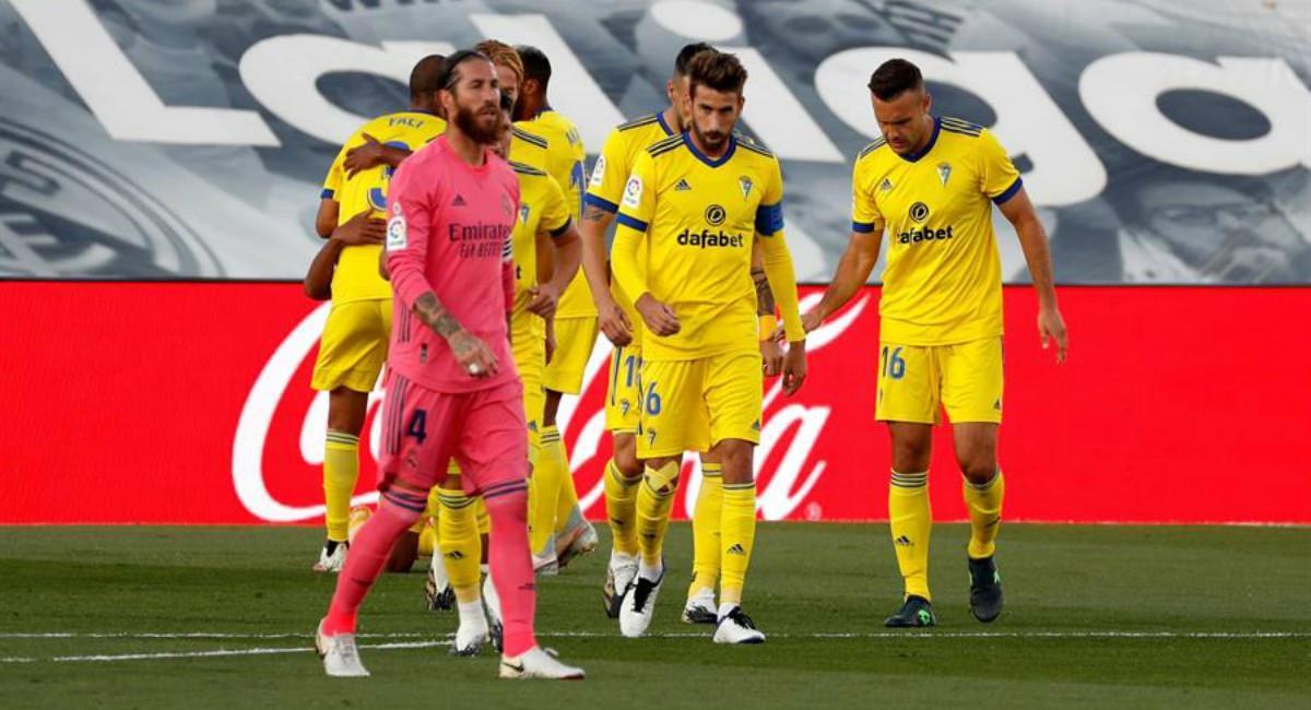 Real Madrid pierde contra Cádiz. Foto: EFE