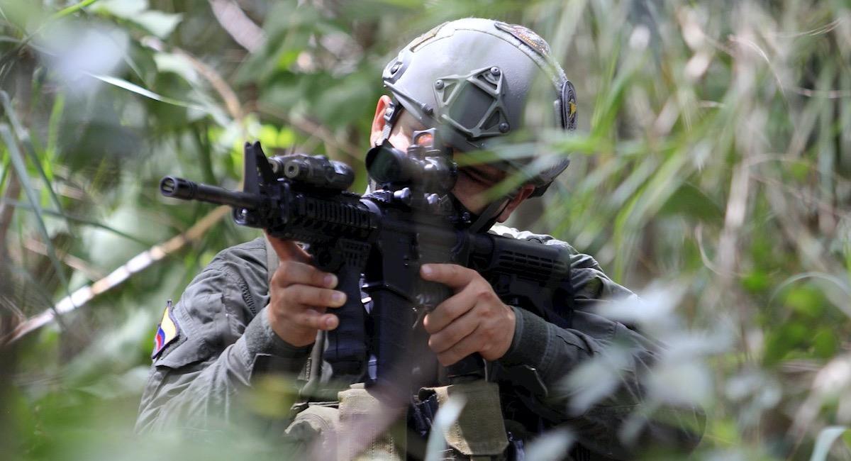 El ejercito busca disminuir el ingreso al país y la inseguridad en la frontera. Foto: EFE