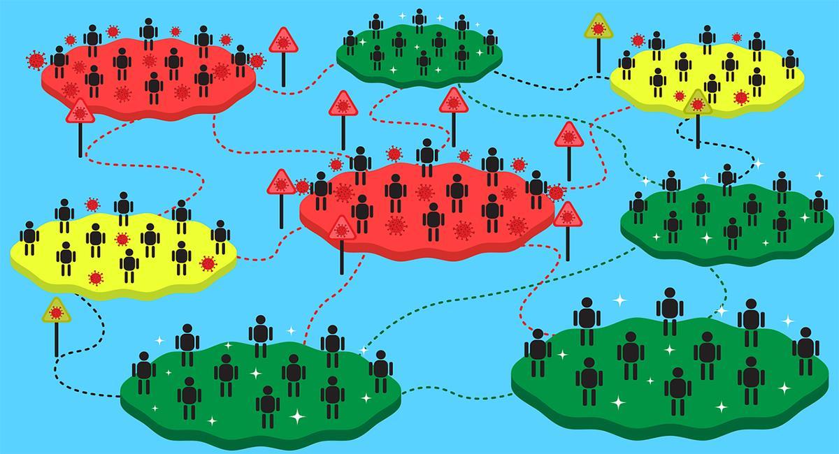 La Organización Mundial de la Salud reconoce que mantener aislados a grandes grupos de población frente al Covid-19 es imposible. Foto: Pixabay