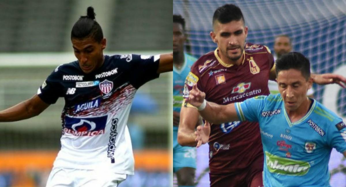 Junior derrotó a Pereira y Tolima empató con Jaguares. Foto: Twitter Prensa redes Dimayor.