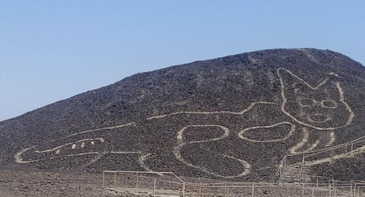 Las líneas de Nazca son un misterio mundial, y aún parece que hay más líneas 'escondidas'. Foto: Twitter @MinCulturaPe
