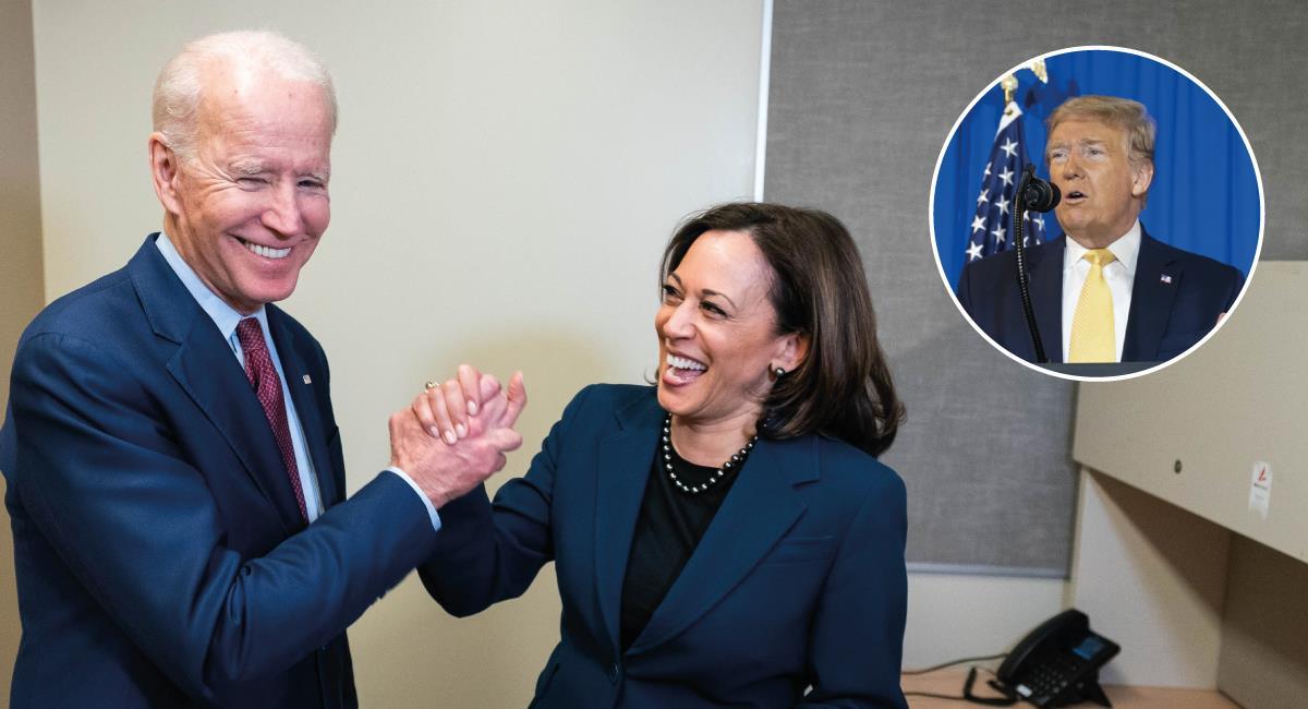 En dos semanas se elegirá Presidente. Foto: Twitter @WhiteHouse / @JoeBiden