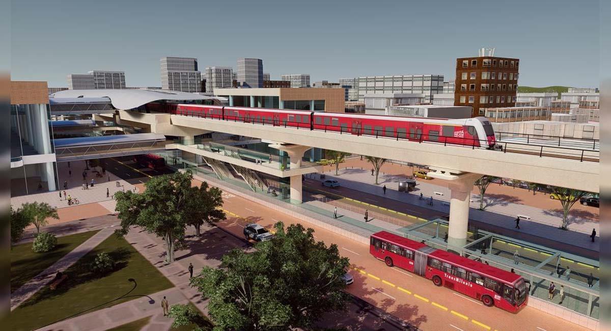 El Metro de Bogotá conectará con las troncales de TransMilenio. Foto: Alcaldía de Bogotá