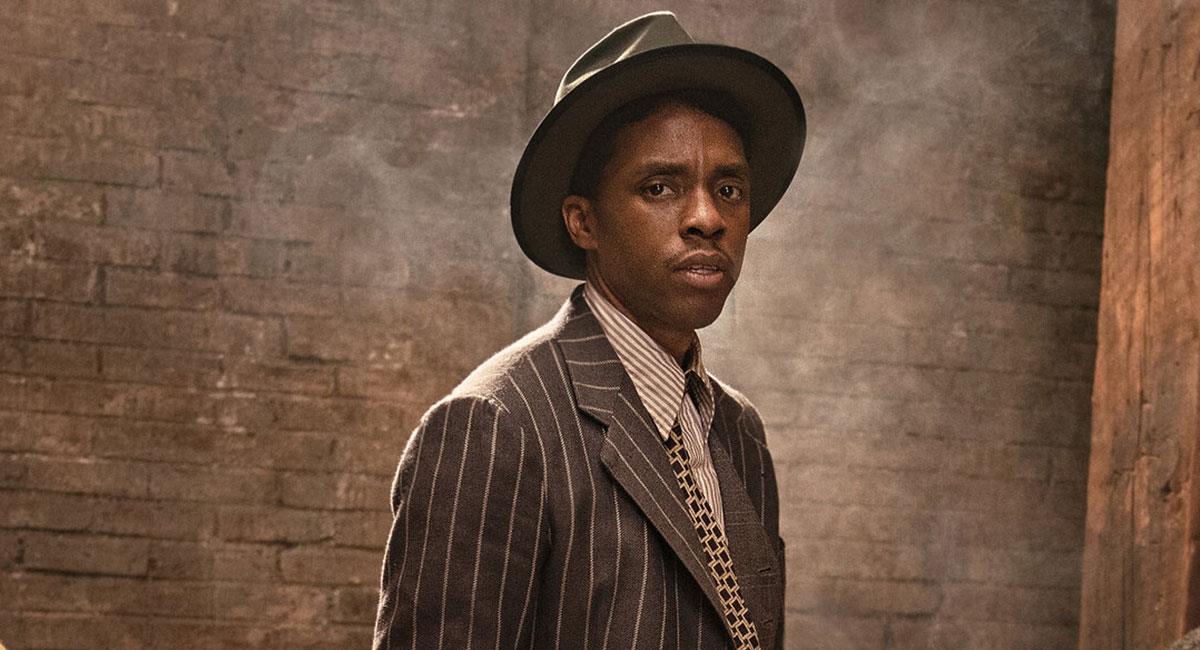 """Chadwick Boseman pudo grabar """"La Madre del Blues"""" antes de su fallecimiento en agosto. Foto: Twitter @NetflixLAT"""