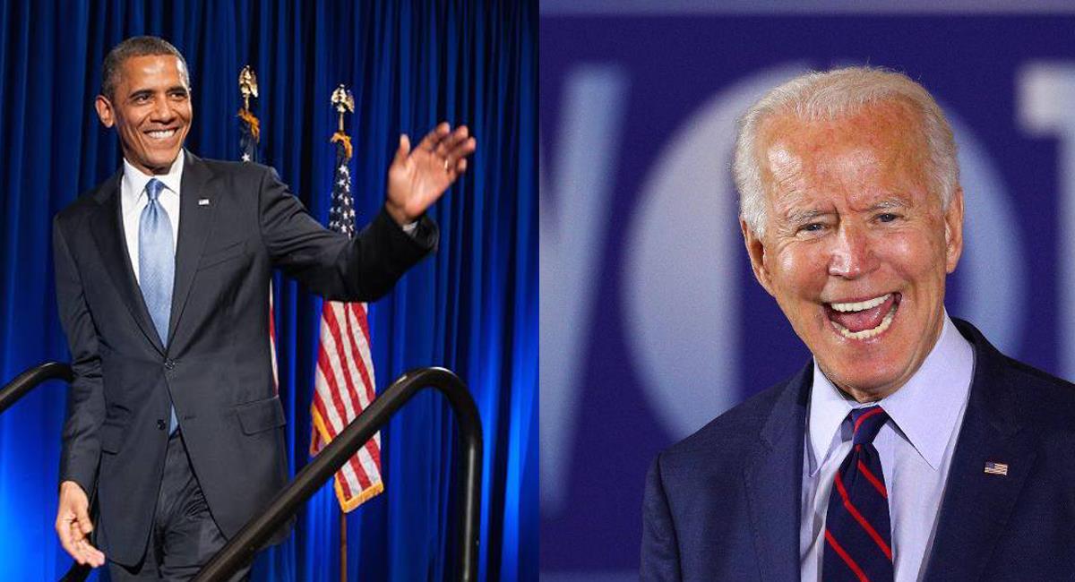 El expresidente Barack Obama pidió votar masivamente por el candidato demócrata Joe Biden. Foto: Facebook Carmen Aristegui/Barack Obama