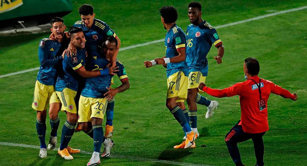 La Selección Colombia se prepara para la siguiente fecha de clasificatorias al Mundial Qatar 2022. Foto: EFE