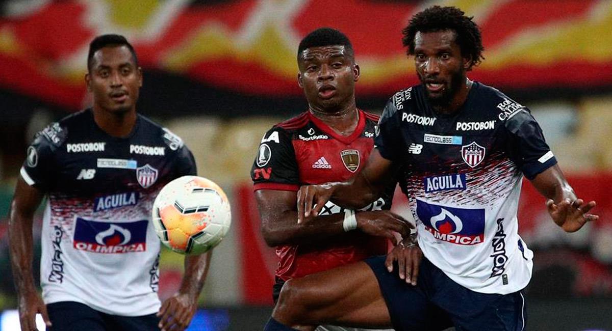 Junior no pudo con Flamengo en el Maracaná. Foto: EFE
