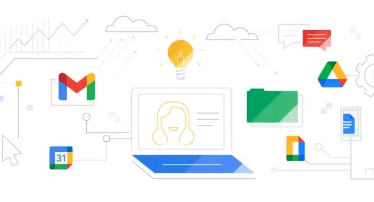 Todos los servicios de Google se integrarán a la plataforma Workspace y por ello 'estrenan' logo. Foto: Twitter @GoogleWorkspace