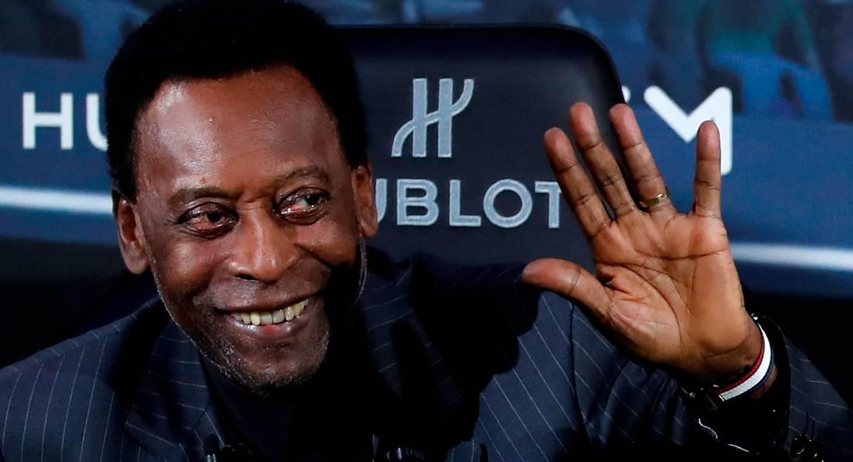 El Rey Pelé cumple 80 años. Foto: EFE
