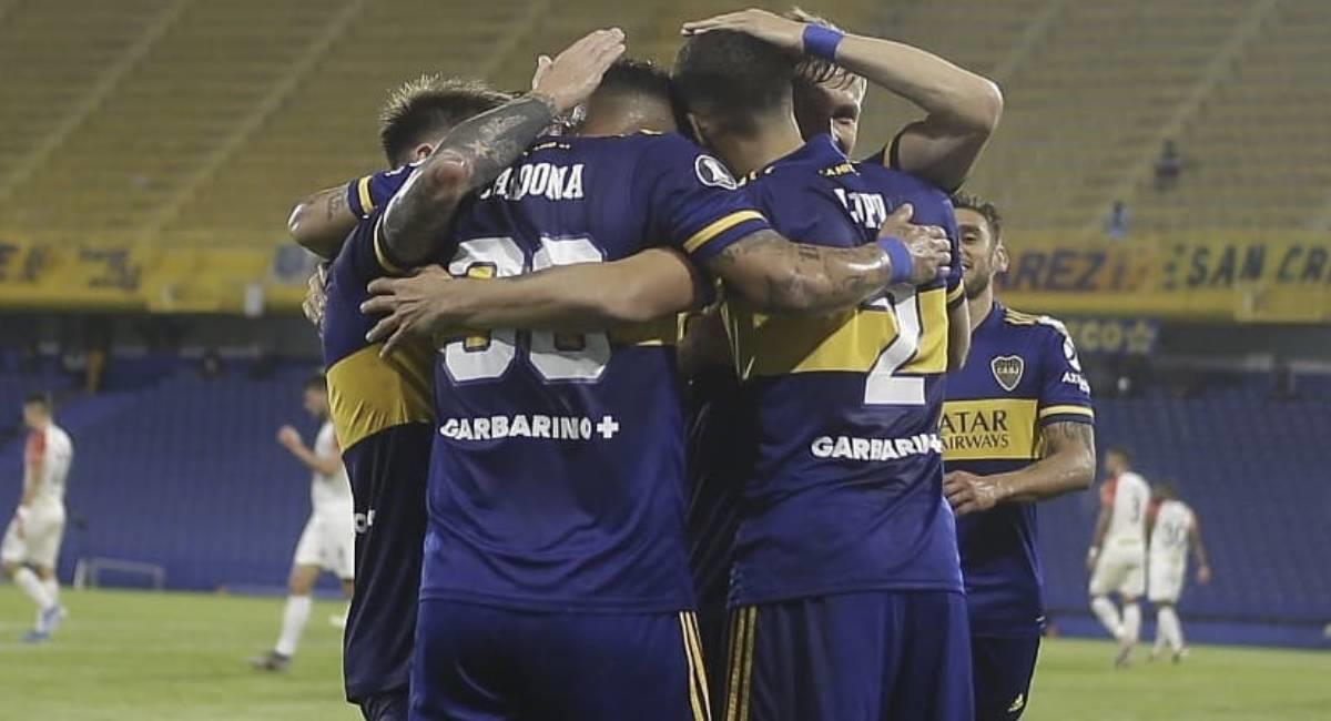 Boca Juniors se medirá ante Atlético Paranaense en octavos de final. Foto: Twitter @BocaJrsOficial