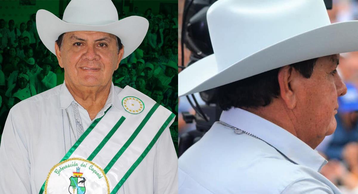 Arnulfo Gasca Trujillo, gobernador de Caquetá, es una figura controvertida de la política del departamento. Foto: Facebook Arnulfo Gasca Trujillo