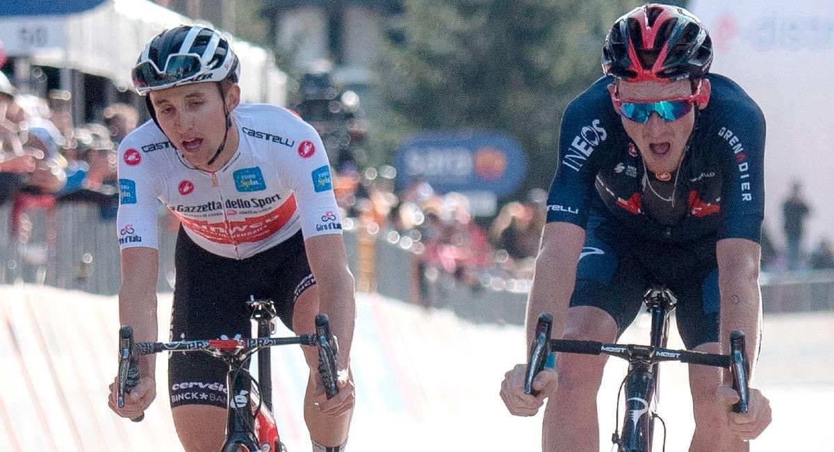 El Giro de Italia está más emocionante que nunca. Foto: EFE