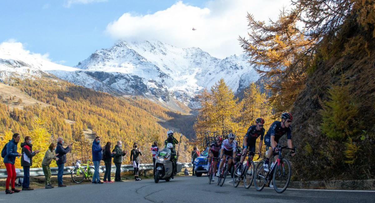 Sigue en vivo la última etapa del Giro de Italia. Foto: Twitter Prensa redes Giro de Italia.
