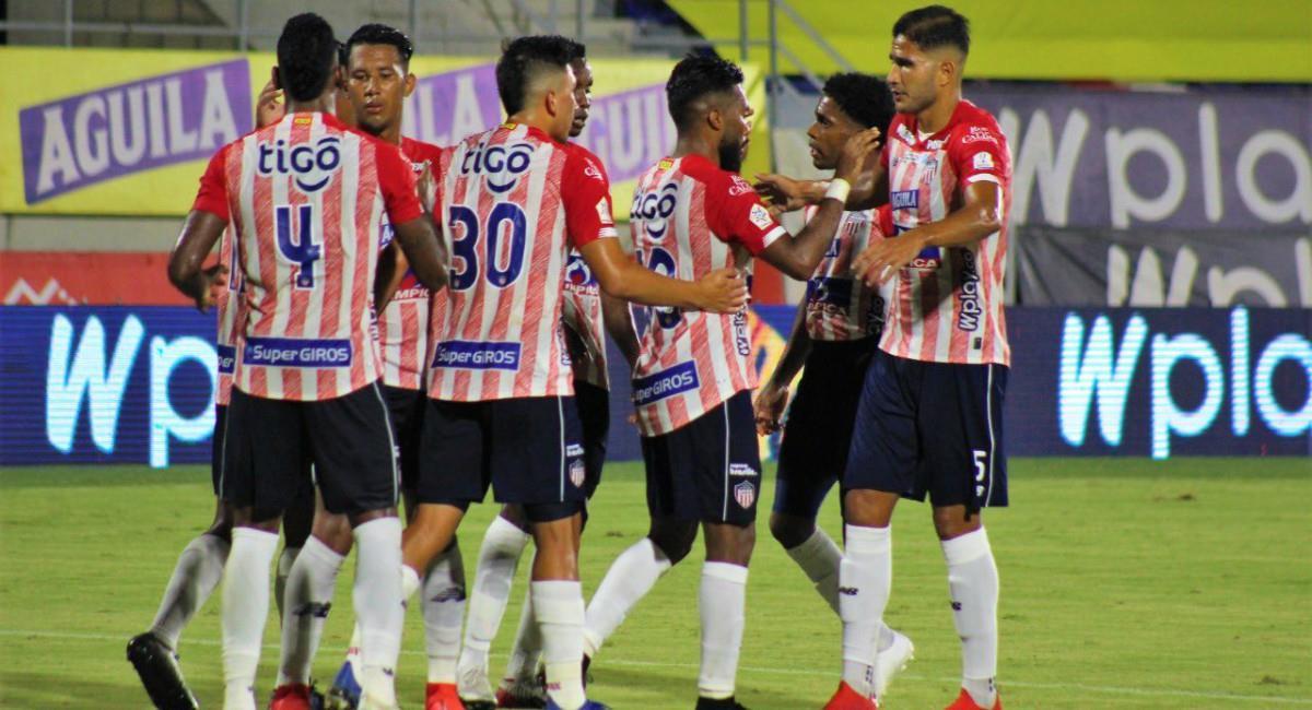 Junior empató con Millonarios. Foto: Twitter Prensa redes Junior de Barranquilla.