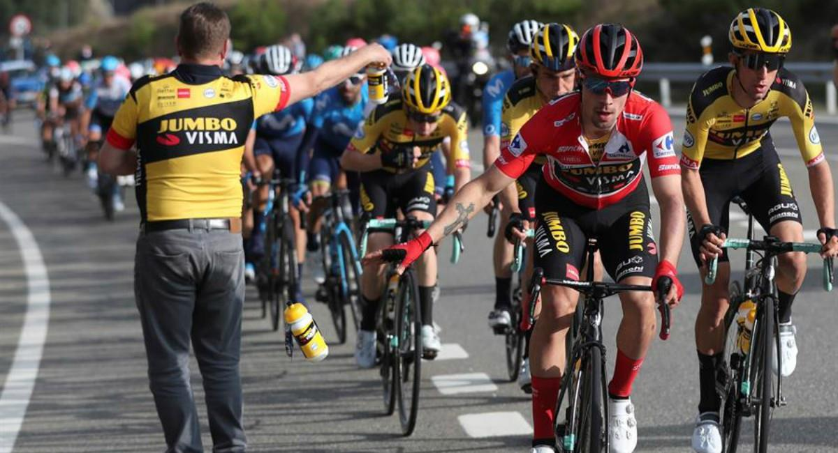 Sigue en vivo la etapa seis de la Vuelta a España. Foto: EFE