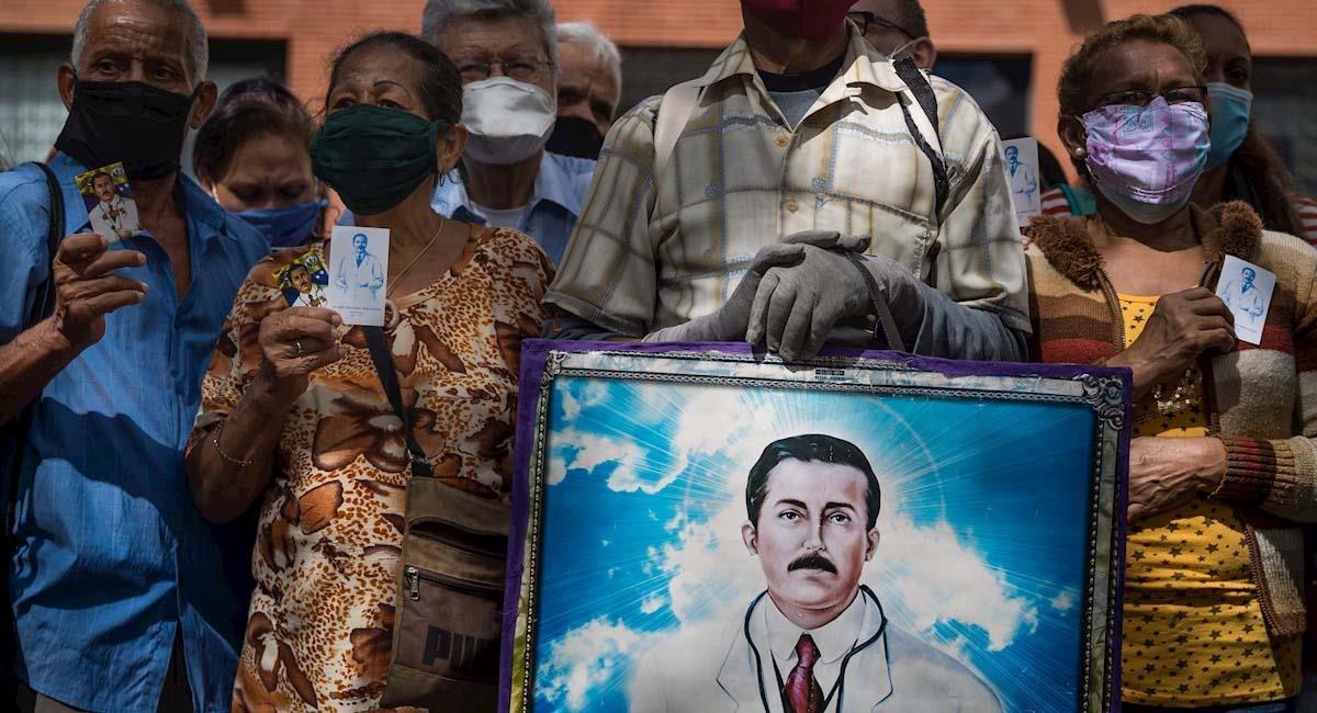 """José Gregorio Hernández es considerado como el """"médico de los pobres"""". Foto: EFE"""