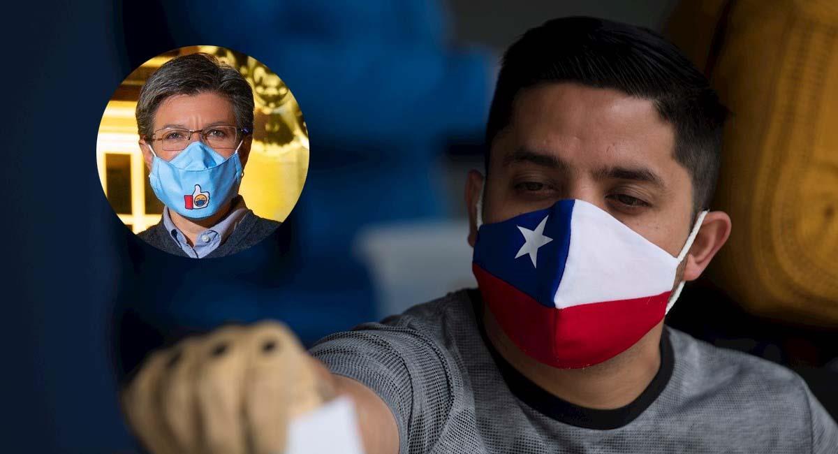 Casi el 80 % de los chilenos aprobaron la nueva Constitución. Foto: EFE