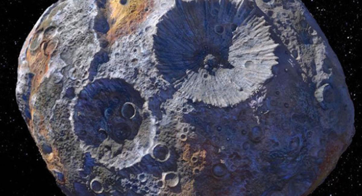 Los asteroides aparte de conocimiento, esconden también riqueza en metales. Foto: Twitter @NASAHubble