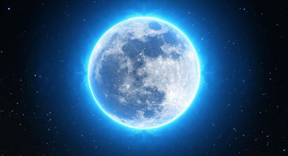La Luna Azul es la segunda Luna llena del mes, y es algo que febrero nunca experimentará. Foto: Pixabay