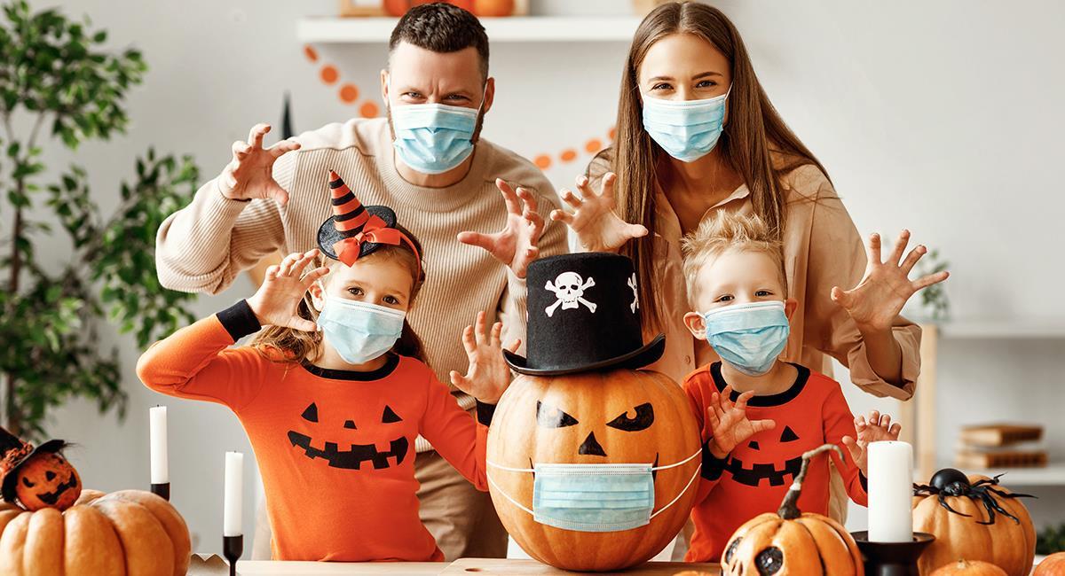 Halloween en pandemia: 6 increíbles ideas para celebrar desde casa. Foto: Shutterstock