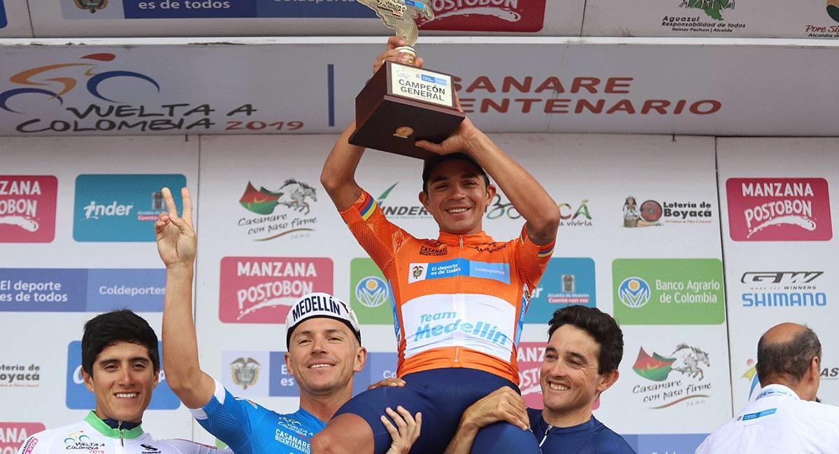 La Vuelta a Colombia 2020 tendrá 10 etapas y 1200 kilómetros. Foto: Prensa Fedeciclismo
