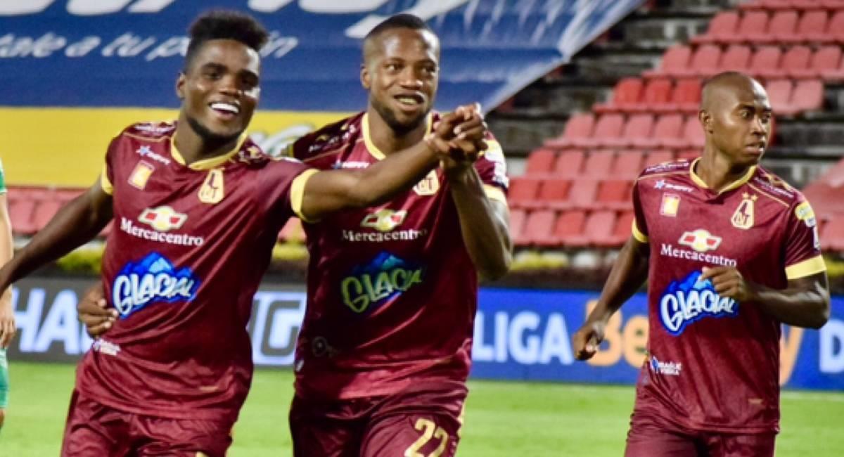 Sigue EN VIVO el partido entre Deportes Tolima y La Calera por Copa Sudamericana. Foto: Twitter @cdtolima