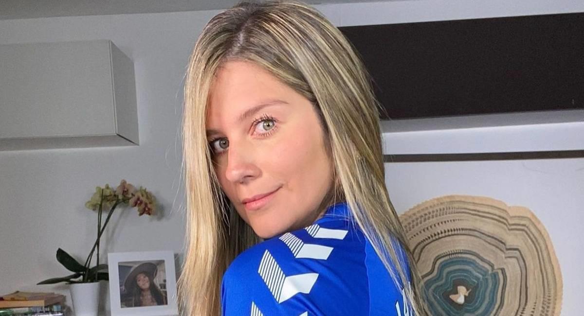 Andrea Guerrero, periodista deportiva contagiada de COVID-19. Foto: Instagram @andreaguerreroquinte