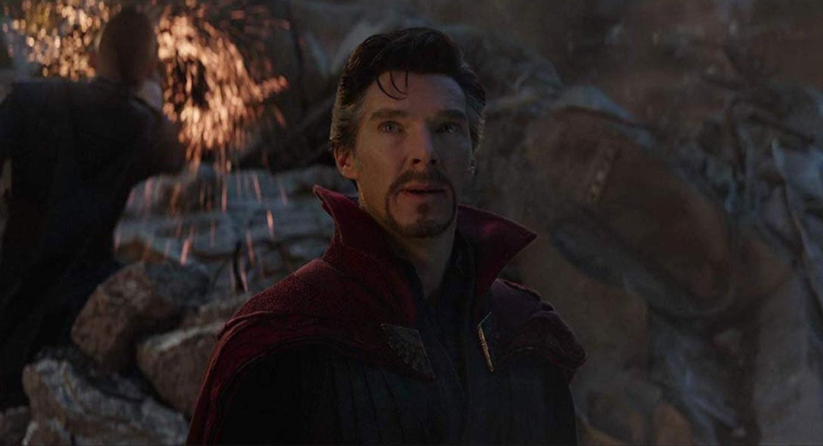 "Benedict Cumberbatch improvisó una de las escenas clave de ""Avengers Endgame"". Foto: Twitter @MarvelStudios"
