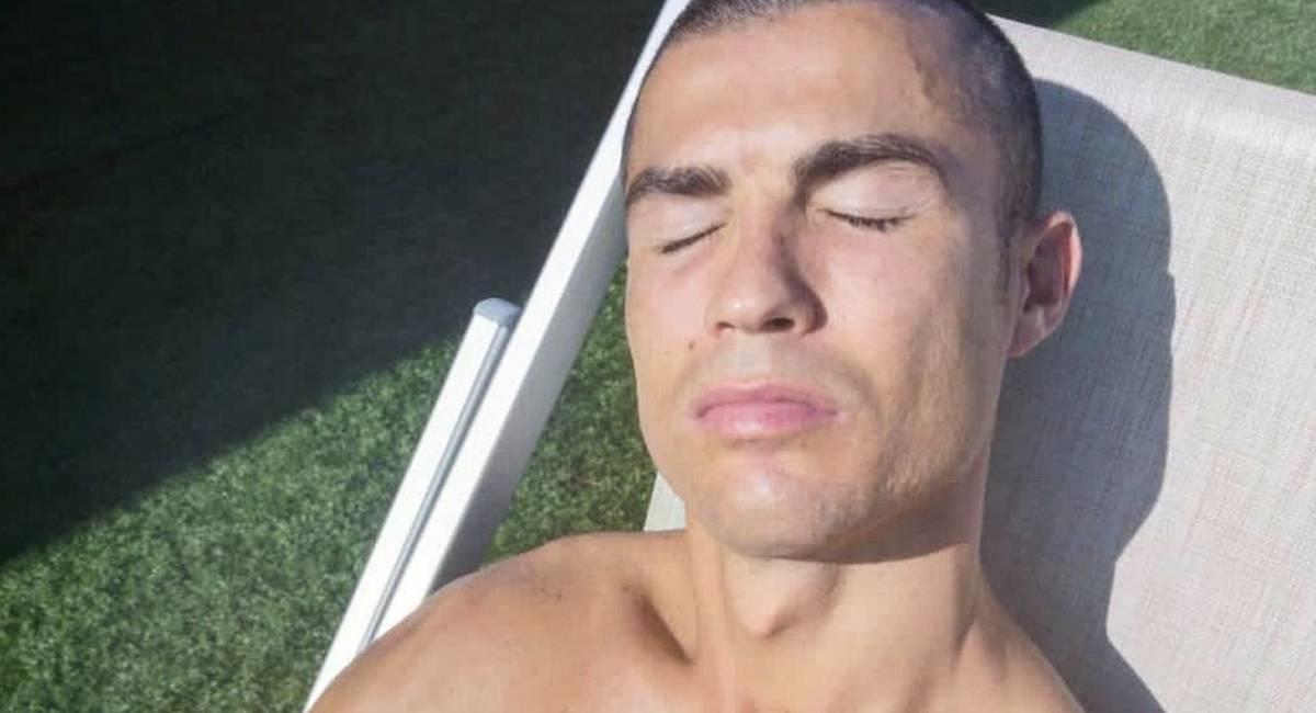 Cristiano Ronaldo está contagiado de COVID-19. Foto: Twitter @cristiano