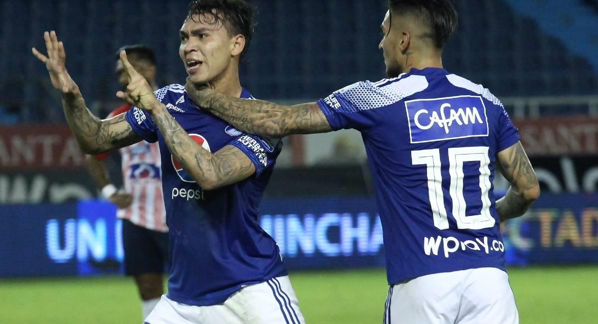 Sigue EN VIVO el partido de Copa Sudamericana entre Millonarios y Deportivo Cali. Foto: Twitter @MillosFCoficial