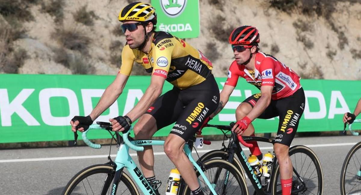 Tom Dumoulin abandona La Vuelta por cansancio. Foto: EFE